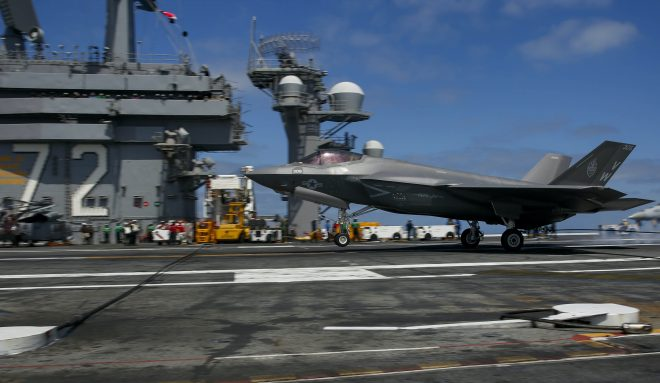 First Marine F-35C Squadron Ready to Deploy on Navy Aircraft Carriers
