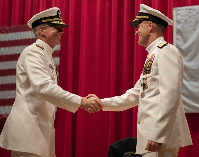 VIDEO: Thomas Takes Command of U.S. 7th Fleet, Merz Heading to Pentagon