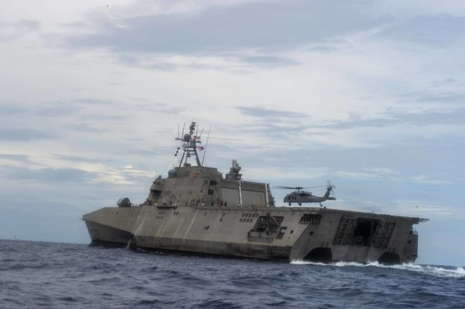 CNO Gilday: Keeping Littoral Combat Ships Nimble Key to Pacific Deployments, No Plans for 1st Fleet in Singapore