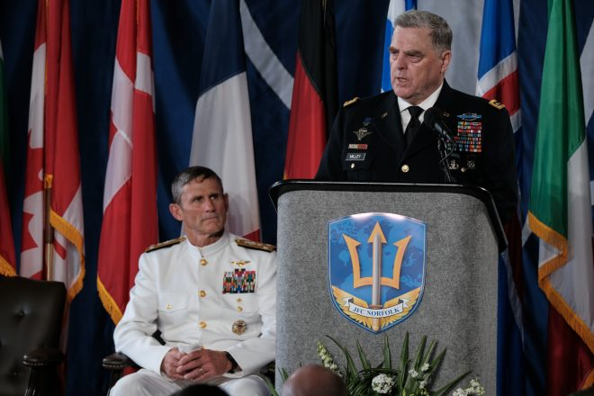 Milley: NATO in Forefront of Change of 'How We Fight'