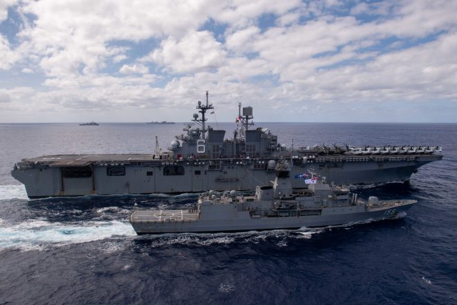Admiral: Talisman Sabre Proves U.S., Allies Can Create Pacific Naval Force in Days