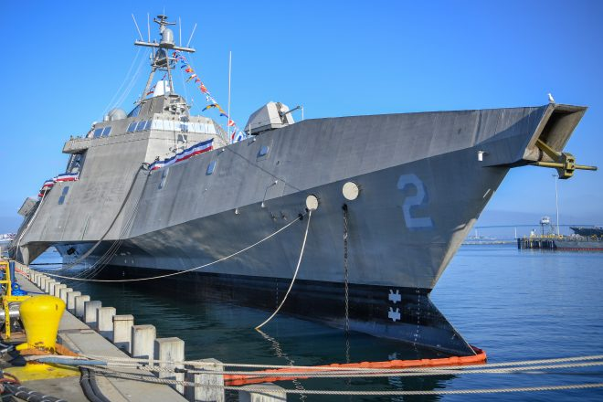 Navy Quietly Decommissions Littoral Combat Ship Independence