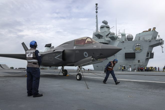 U.K. Welcomes Chance to Put British F-35Bs on American Warships