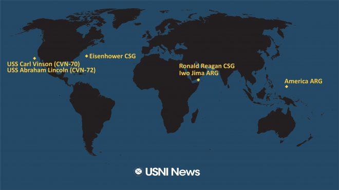 USNI News Fleet and Marine Tracker: July 12, 2021
