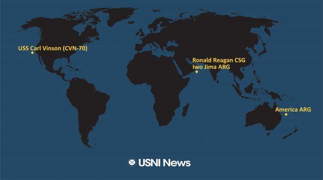 USNI News Fleet and Marine Tracker: July 26, 2021