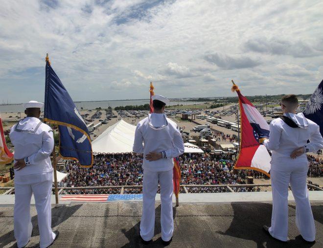 IKE is Back: USS Dwight D. Eisenhower Wraps Up Back-to-Back Deployments - USNI News