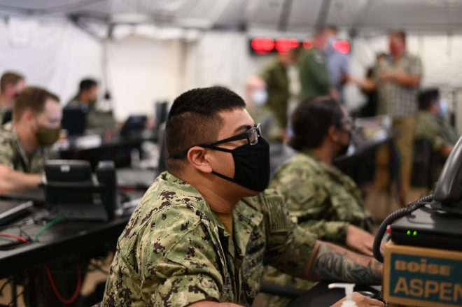U.S. 3rd Fleet Shifts Command Hub to Hawaii as Vinson CSG, Air Wing Join Global Large-Scale Exercises