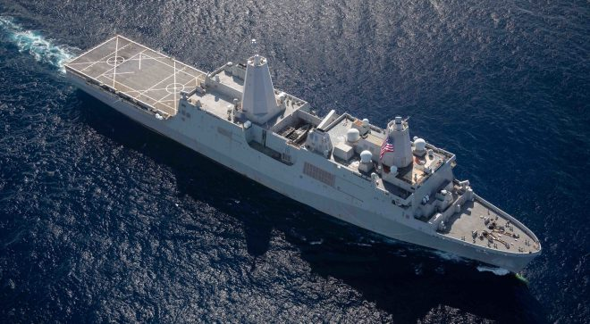 Warship USS Arlington, More Coast Cutters to Join Haiti Relief Operation