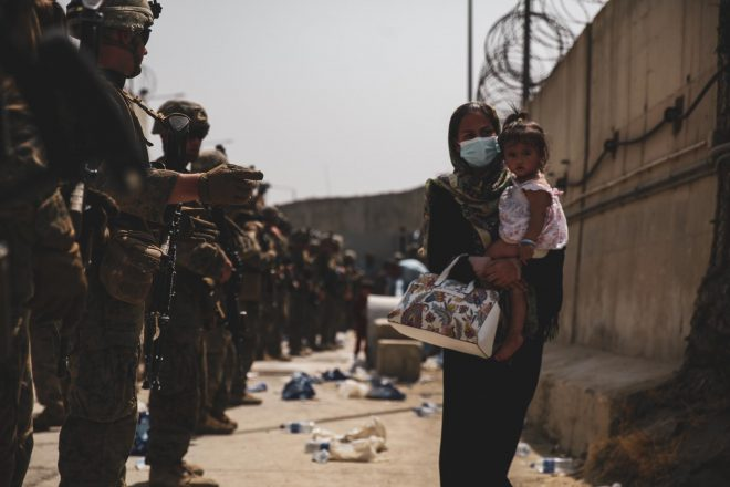 2,000 Marines Now in Afghanistan Assisting Evacuation as More Head to Haiti