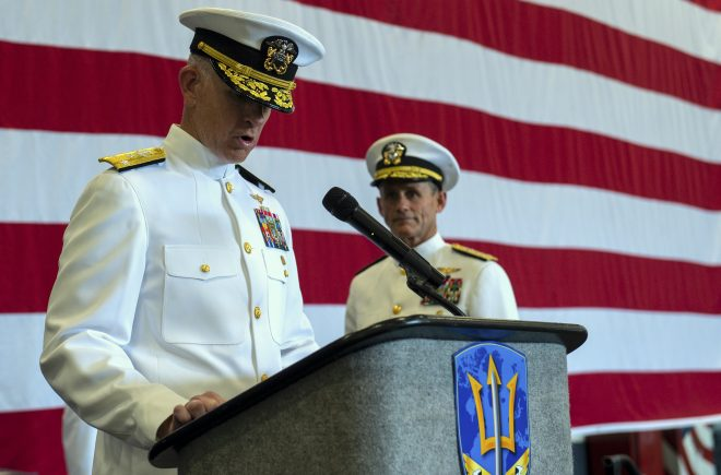 New US 2nd Fleet Head Brings Cyber, Training Emphasis to Atlantic Command