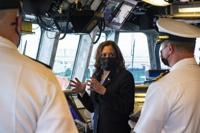 VP Harris Stresses U.S. Commitment to Indo-Pacific During Regional Tour, Calls Out Chinese Aggression
