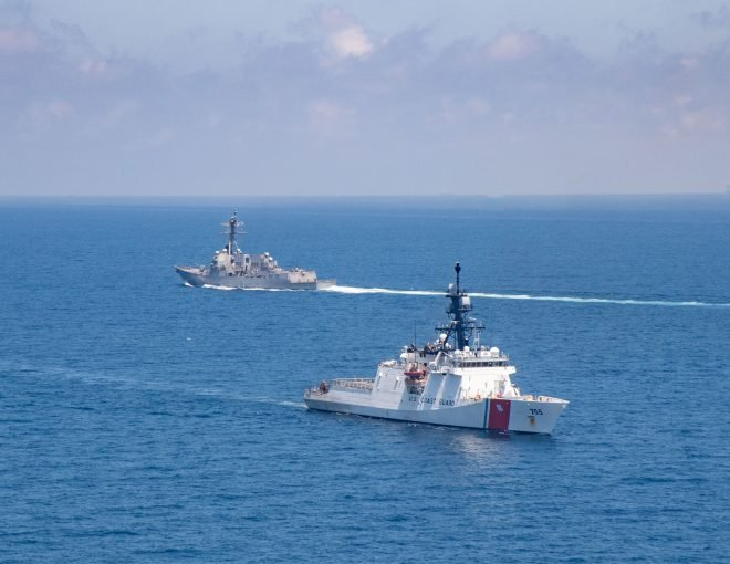 Navy Destroyer, Coast Guard Cutter Make Eighth U.S. Taiwan Strait Transit in 2021