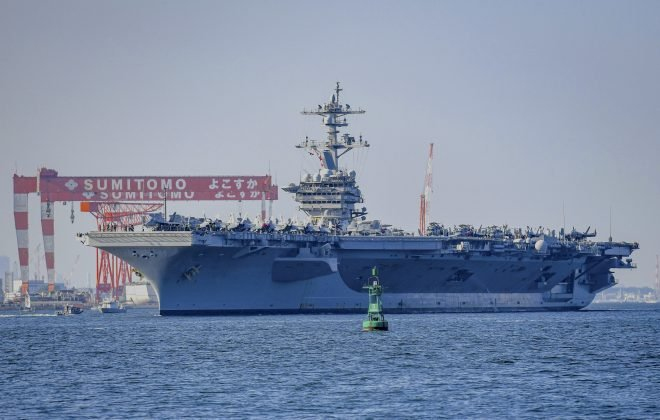 6 Naval Task Groups From U.S., U.K., India, Japan and Australia Underway in Pacific