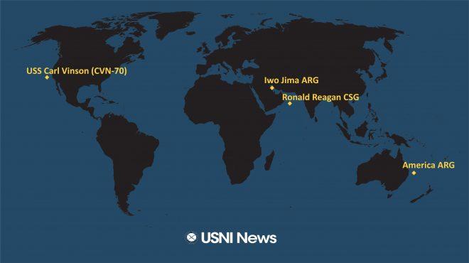 USNI News Fleet and Marine Tracker: Aug 2, 2021