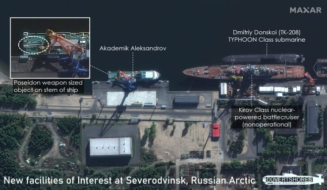 New Satellite Images Hint How Russian Navy Could Use Massive Nuclear Torpedoes
