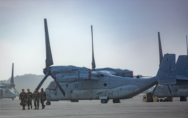 More U.S. Navy Ships, Marine Aircraft Assist in Haiti Relief