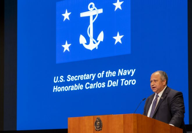 SECNAV Del Toro: U.S. Will be 'Equal Partner' with Allied Navies to Maintain Global Freedom of Navigation
