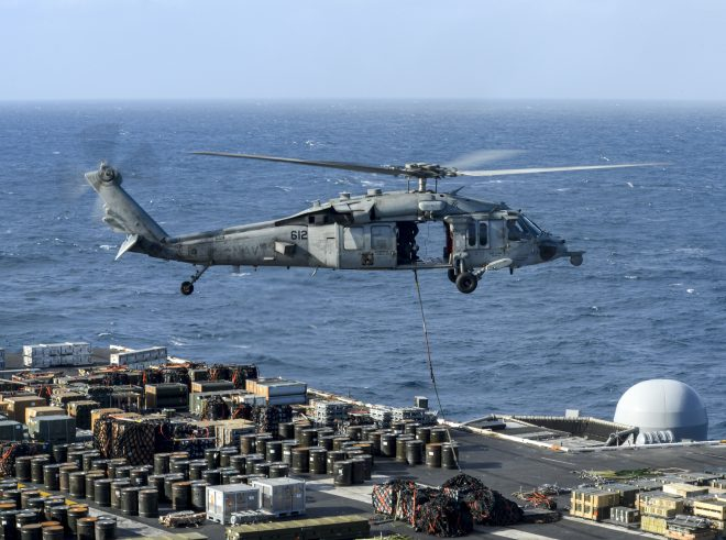 UPDATED: 5 Sailors Missing After Navy Helicopter Crashes off California; 5 More Sailors on USS Abraham Lincoln Injured