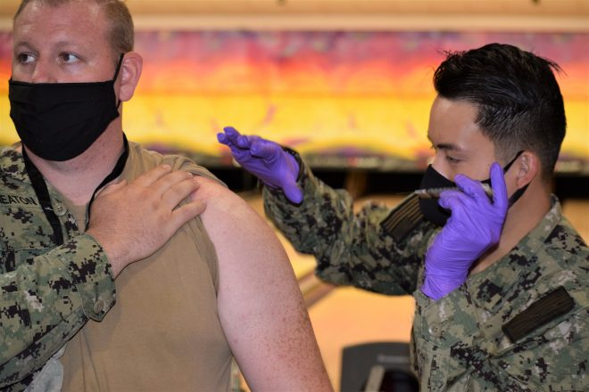 Navy, Marine Corps Issue Policy, Deadlines for Mandatory COVID-19 Vaccinations for Active, Reserve Forces