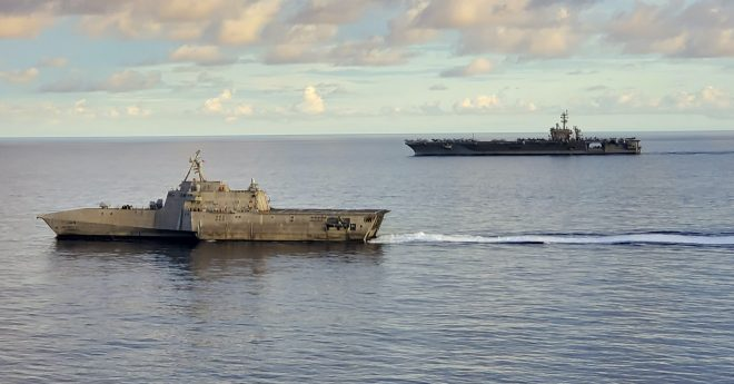 Report on U.S.-China Competition in East, South China Sea
