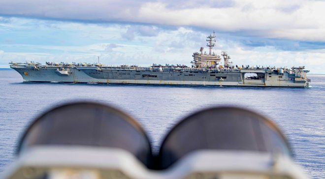 Navy Approaching 'Weak' Rating in New U.S. Military Strength Survey