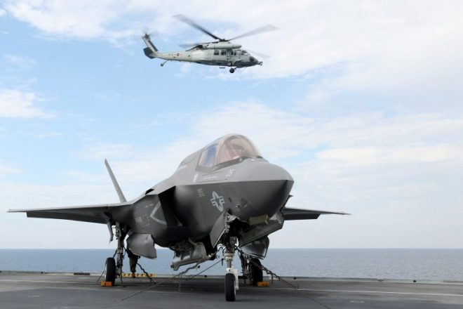 U.S., U.K. F-35s Drill in the Western Pacific