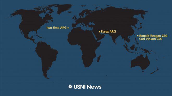 USNI News Fleet and Marine Tracker: Sept. 27, 2021