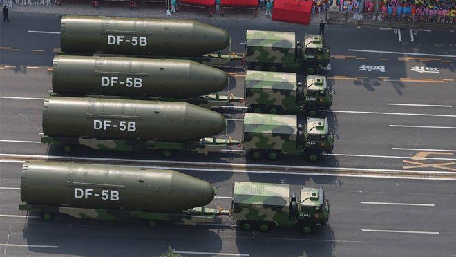 Hyten: China's 'Unprecedented Nuclear Modernization' Chief Concern