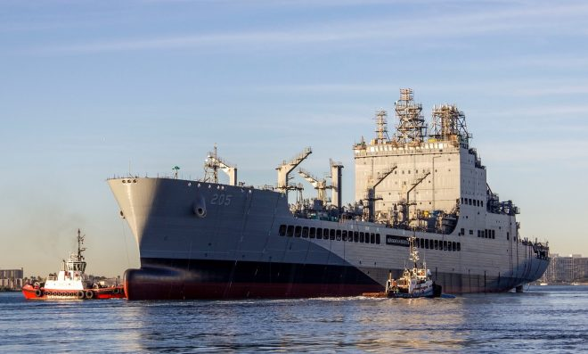 Report to Congress on John Lewis-class Oiler Program