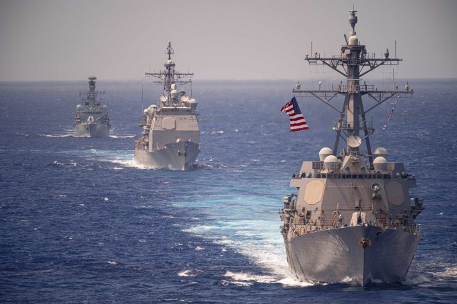 Navy Denies Russian Claims of Expelling U.S. Destroyer From Territorial Waters In Sea of Japan