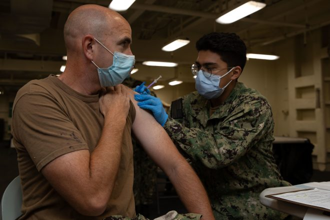 New Navy Guidance Will Discharge Sailors Refusing COVID-19 Vaccination Without Exemption