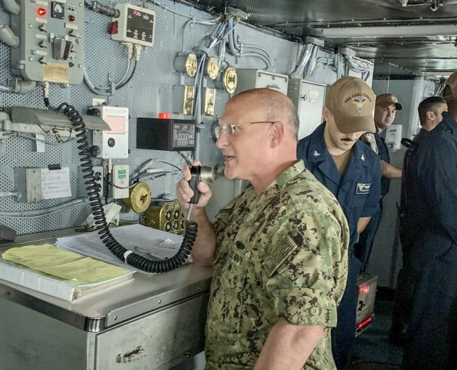 CNO Gilday: U.S., Allies Conduct Indo-Pacific Exercises to Strengthen Interoperability Between Navies