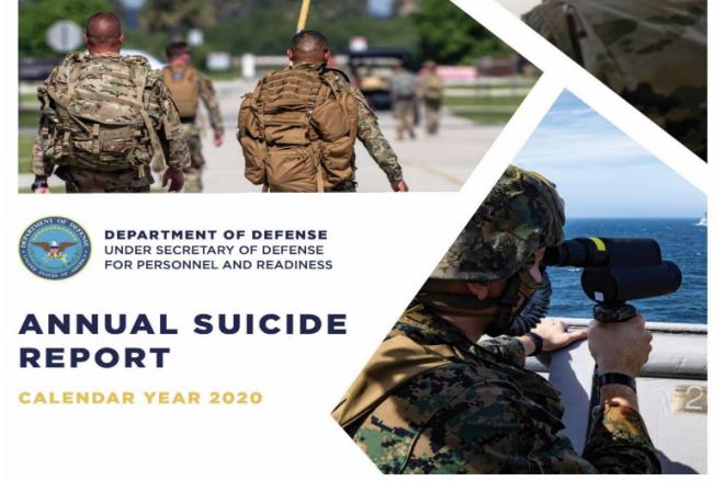 Department of Defense 2020 Suicide Report