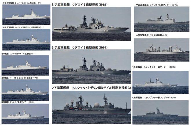 10 Chinese, Russian Warships Sail Through Japanese Islands - USNI News